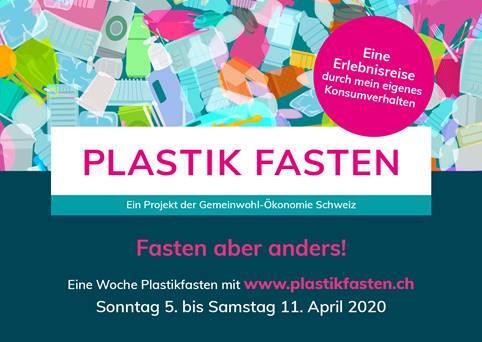 Mach mit bei unseren Projekt Plastikfasten