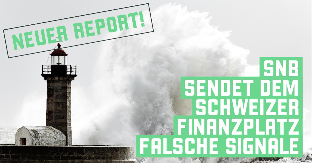 Der aktuelle Report über die Anlagestrategie der SNB