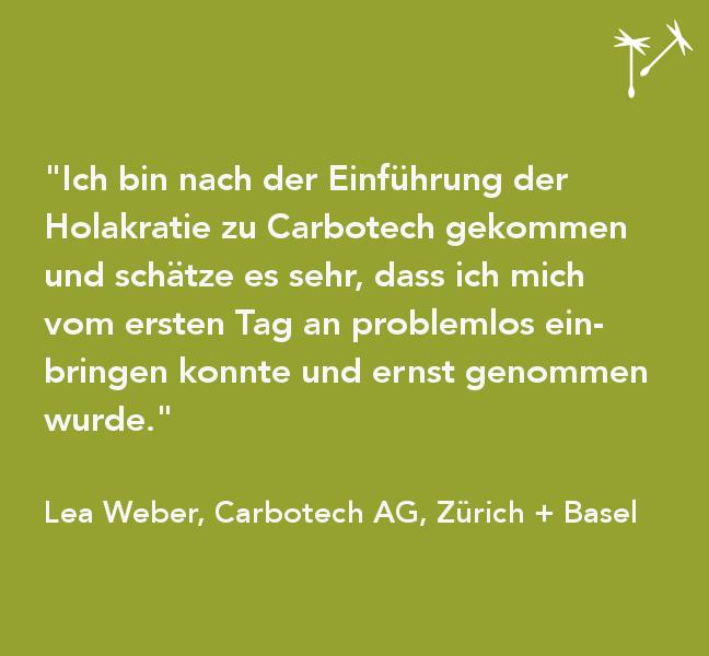 EINBLICKE NO 3 – Carbotech AG, Beratungsunternehmen Zürich/Basel