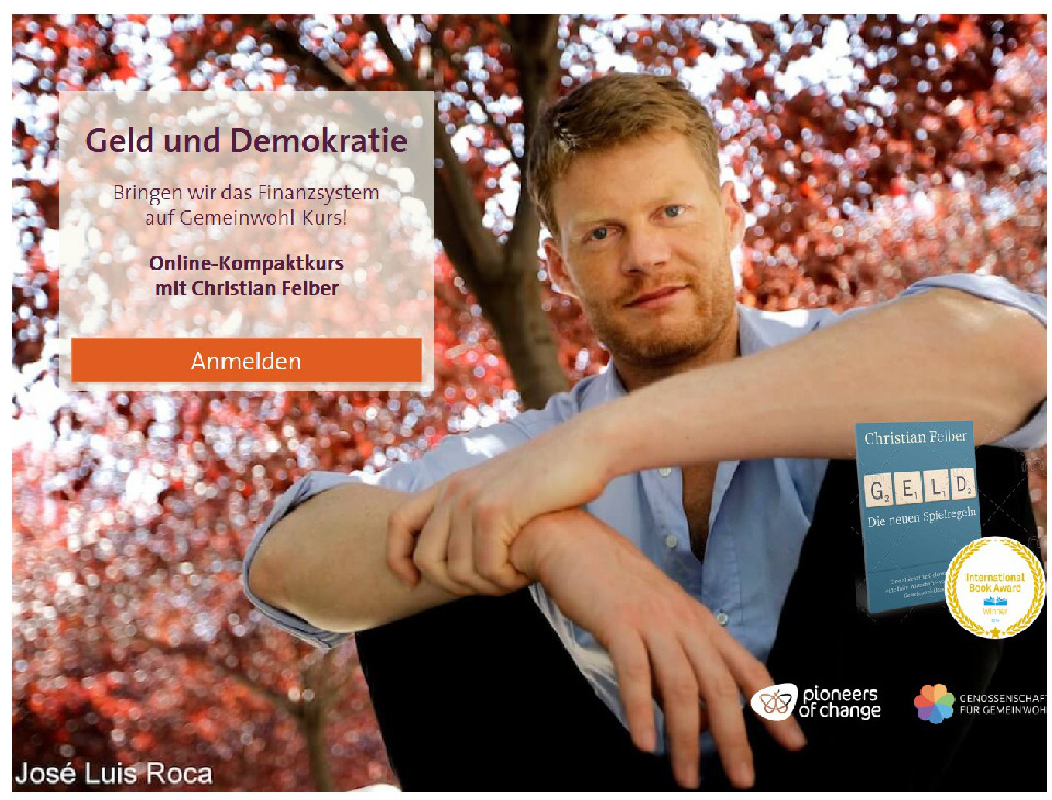 Geld & Demokratie – Online-Kompaktkurs von Christian Felber